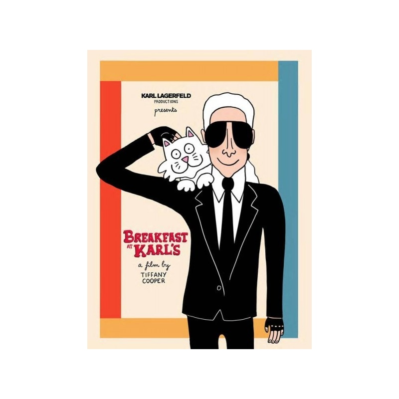 Breakfast at Karl's - Tiffany Cooper - 2015 Silk print for Karl Lagerfeld