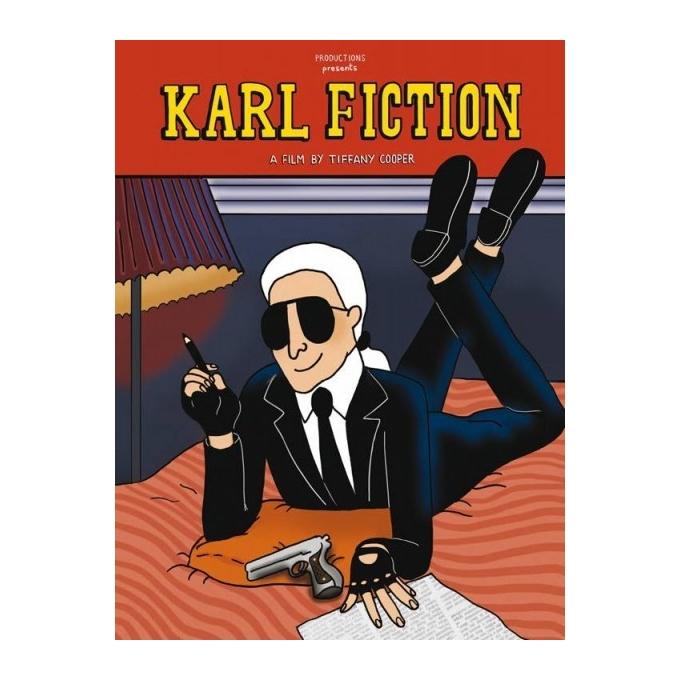 Karl Fiction - Tiffany Cooper - Sérigraphie 2015 pour Karl Lagerfeld