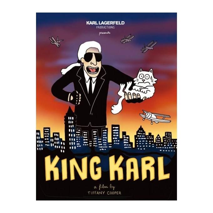 King Karl - Tiffany Cooper - Sérigraphie 2015 pour Karl Lagerfeld