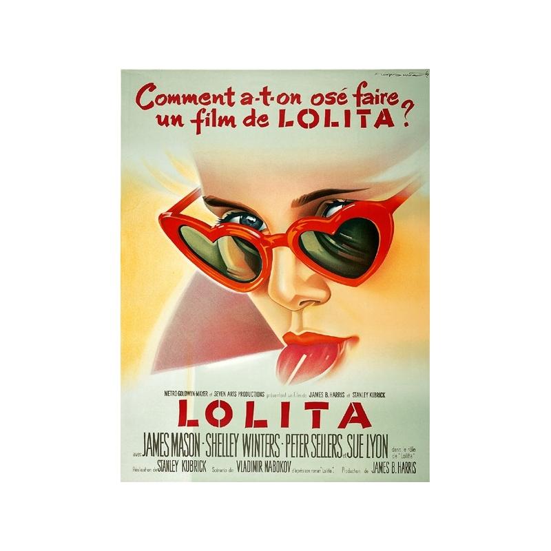 Lolita, Stanley Kubrick, 1962, A+, 120/160 cm