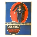"Original French poster - Vintage firm's advertising - ""A mistake should not be made twice"""