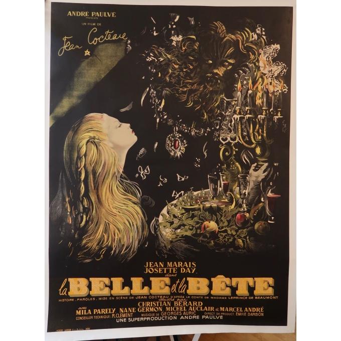 La Belle et la Bête (Jean Marais & Josette Day)