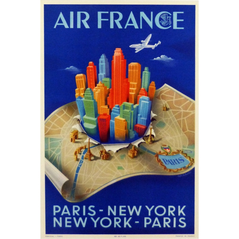 Air France - Paris - New York