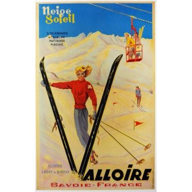 Affiche Valloire