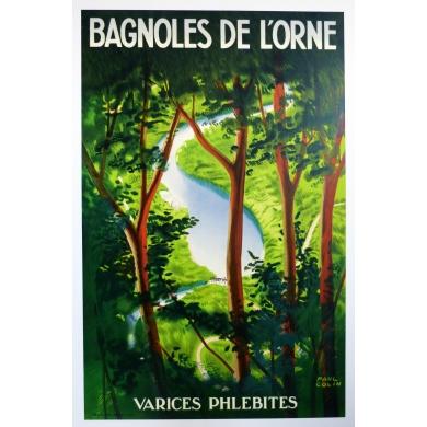 Affiche Bagnoles de l'Orne