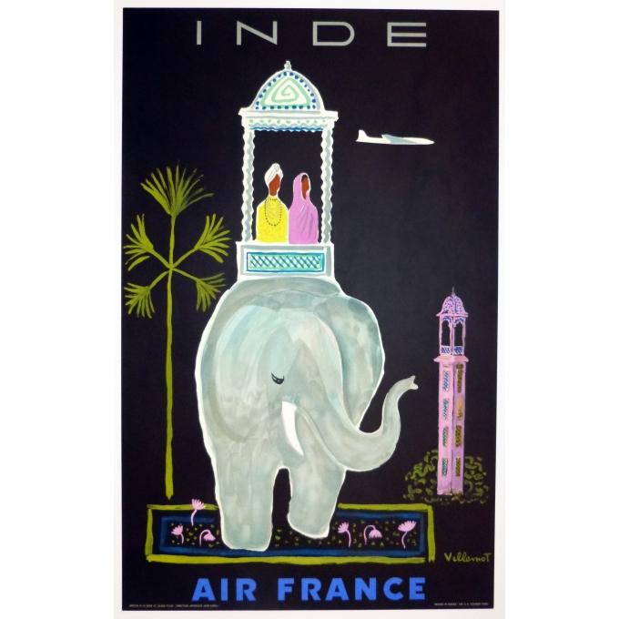 Air France - Inde - Villemot