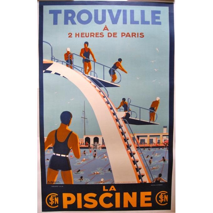 Trouville La Piscine 1930