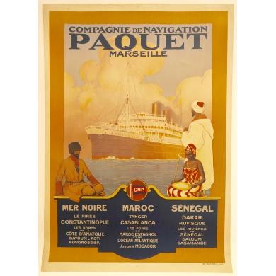 Affiche Paquet Marseille