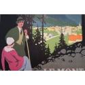 Le Mont-Blanc-Chamonix vers 1924