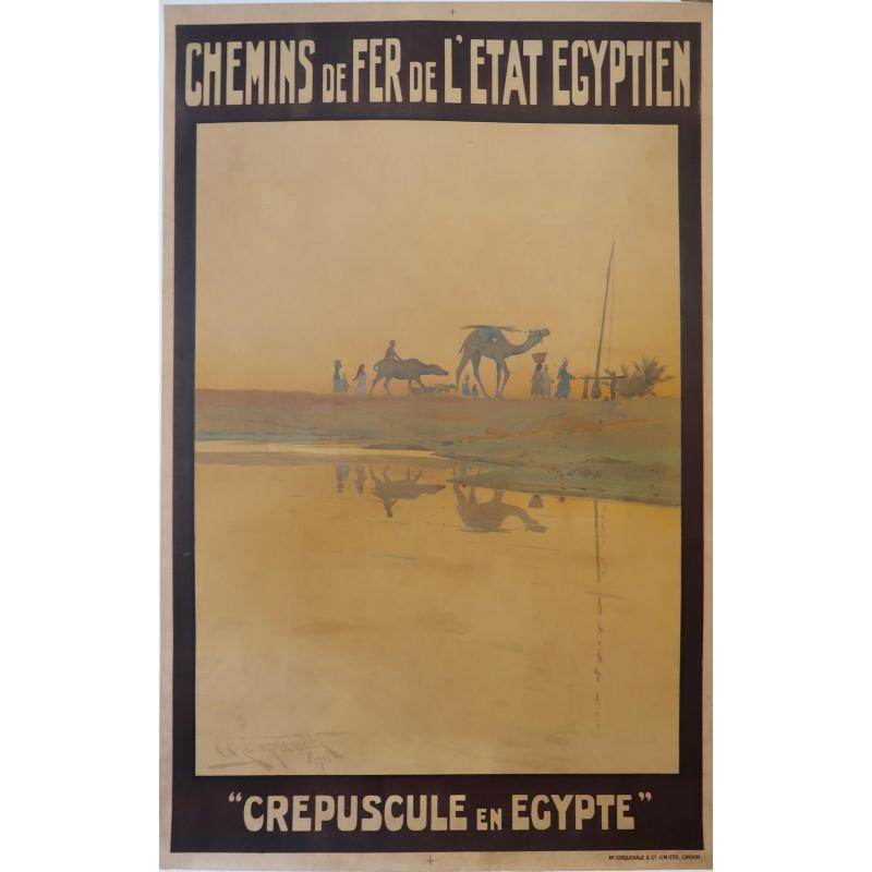 Crépuscule en Egypte