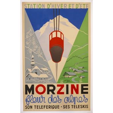 Affiche Morzine 1940