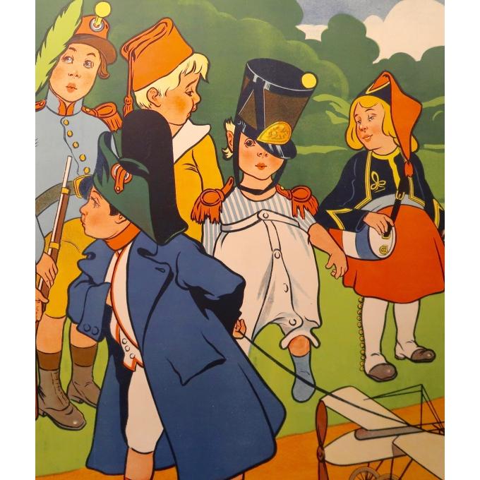Affiche ancienne - Le Bon Marché - Marcellin Auzolle - 1905 - 2