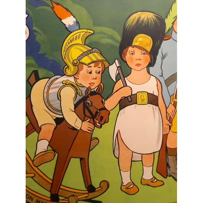 Affiche ancienne - Le Bon Marché - Marcellin Auzolle - 1905 - 3