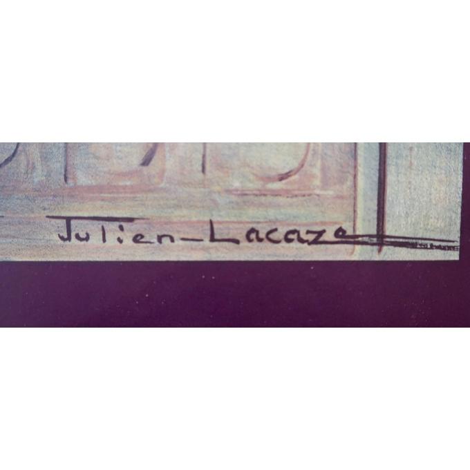 Affiche ancienne - Paris - Julien Lacaze - 1930 - 3