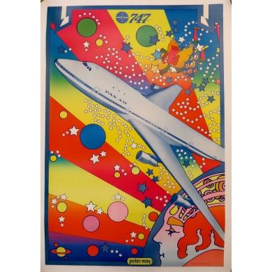 Affiche Panam 747
