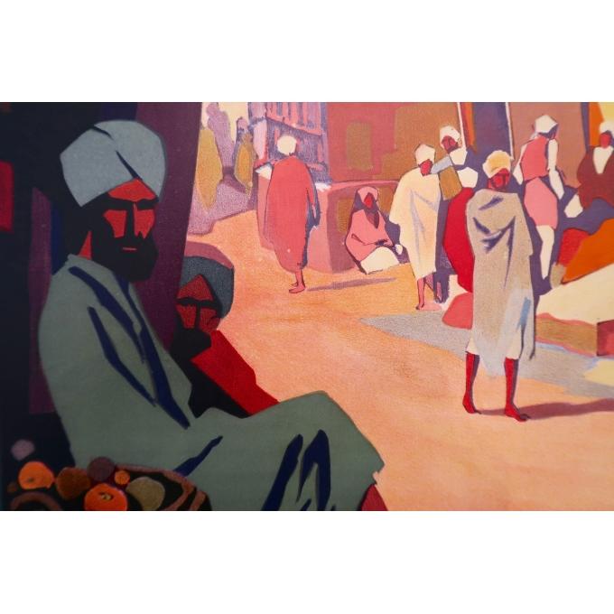 Affiche ancienne de voyage - Muttra - Roger Broders - 1928 - 2
