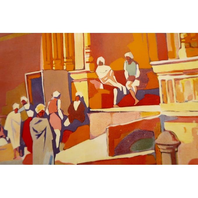 Affiche ancienne de voyage - Muttra - Roger Broders - 1928 - 3