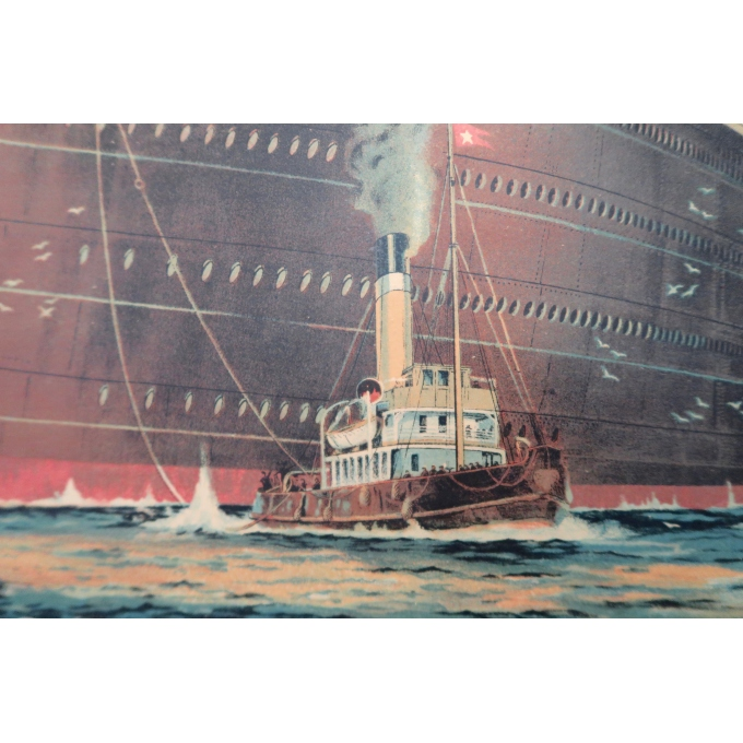 Vintage poster - White Star Line - 1912 - Montague B Black - 2