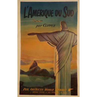 Affiche Amérique du Sud