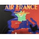 Affiche Air France Afrique Centrale