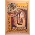 Affiche Gabès PLM - Centre d'excursions Elbé Paris