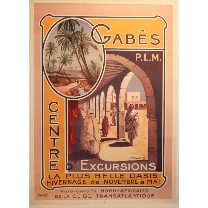 Original poster Gabès PLM - Tour Center