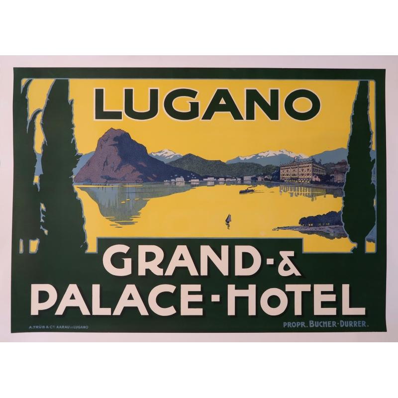 Affiche Lugano