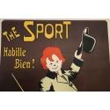 Affiche ancienne originale The Sport de Zagnoli 1910