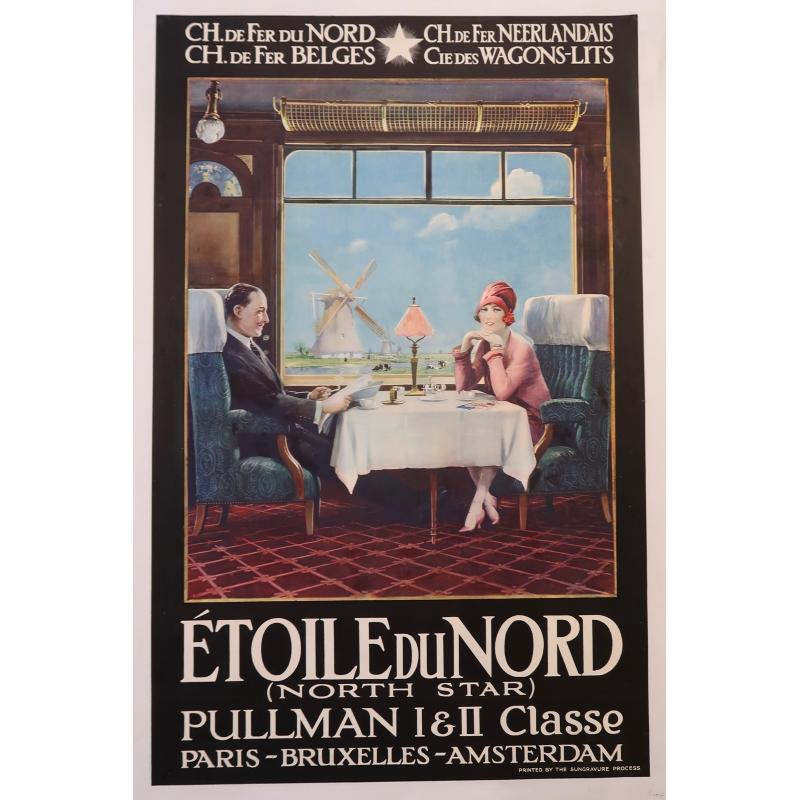 Affiche Etoile de Nord 1927