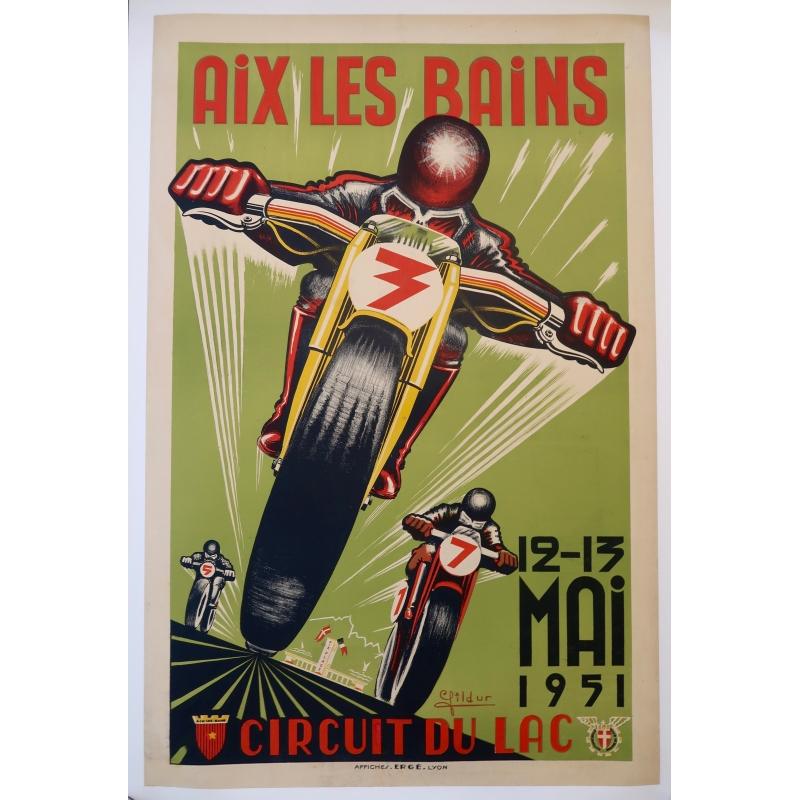 Affiche Circuit du Lac (1951)