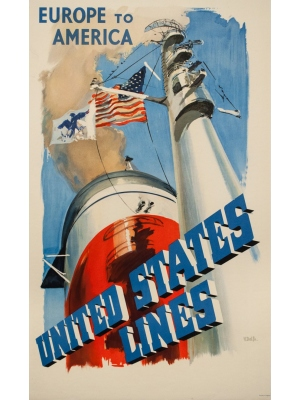 Original and vintage cruises posters - buy and sell