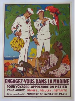 armees-et-recrutement-affiches-originales