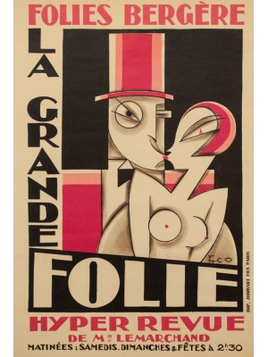 affiches originales anciennes d'exposition - achat vente