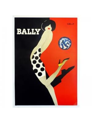 Original and vintage fashion poster