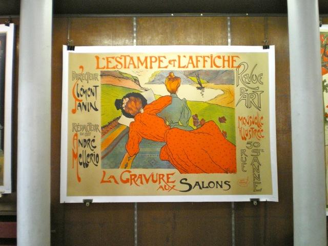 Affiche ancienne L'estampe et l'affiche