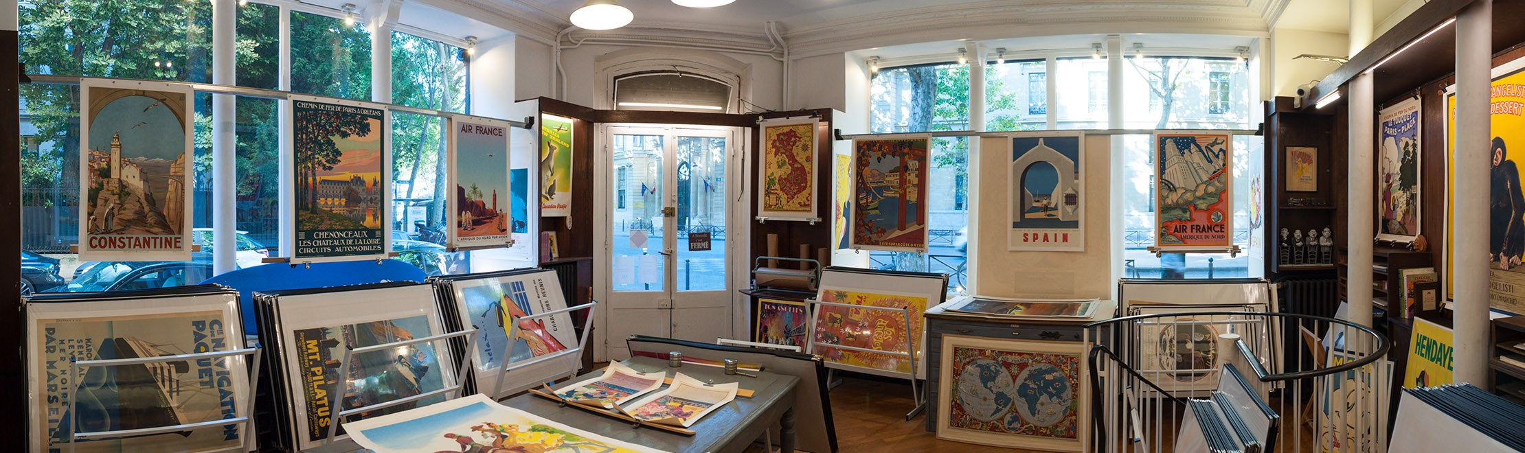 Affiches Anciennes Paris France 213bis Boulevard Saint Germain